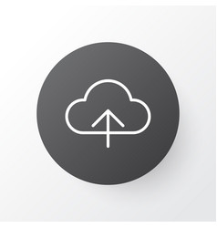 Upload icon symbol premium quality isolated vector