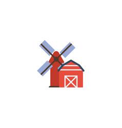 Flat icon farm element of vector