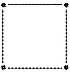 frame black 1 1809 vector image
