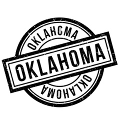 Oklahoma rubber stamp vector image vector image