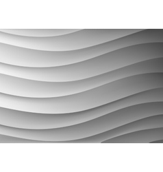 Background in the form of waves vector image vector image
