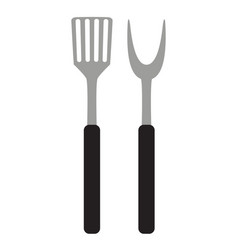 bbq and grill tools vector image vector image