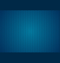 Dark blue abstract knitted texture background vector