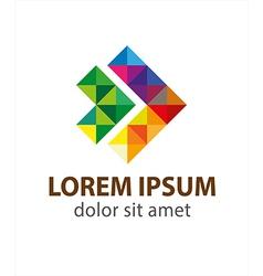 Fast forward logo vector