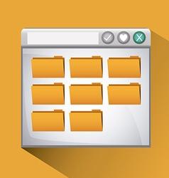 File design vector image