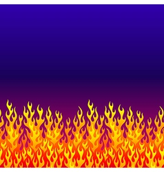 Fire background blue vector