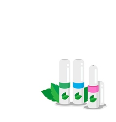 Herbal inhaler vector