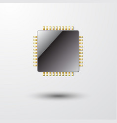 Microchip isolated vector