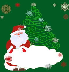 Openwork christmas tree1 vector