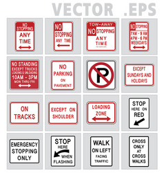 Traffic sign road graphic vector