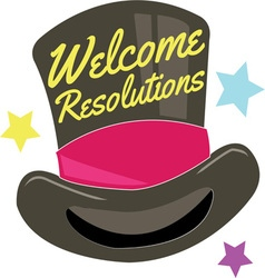 Welcome resolutions vector