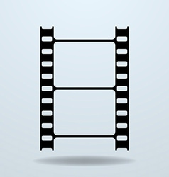 Icon of film frame cinema film vector