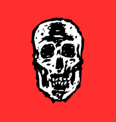 Grim skull vector