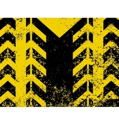 Worn hazard stripes vector