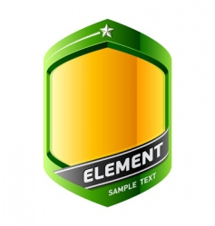Graphic design element vector