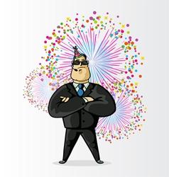 guard festival vector image