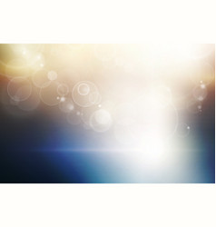 Light at the horizon abstract conceptural dark vector