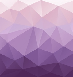 Purple gradient abstract polygon triangular vector