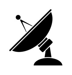 communication antenna isolated vector image vector image