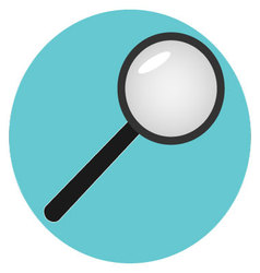 Icon analysis of search analytics vector