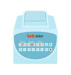 lab equipment shaker vector image