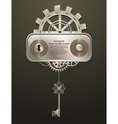 relief lock label vector image