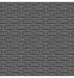 seamless brick pattern vector image