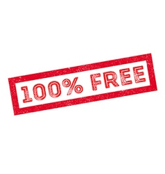 100 percent free rubber stamp vector