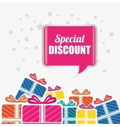 Shopping special offer and disocunts vector