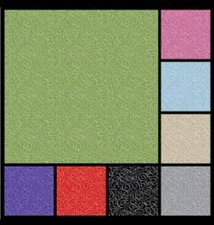 Pattern-curlicue vector