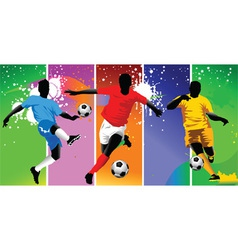 club soccer champions vector image vector image
