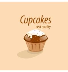 Logo cake vector