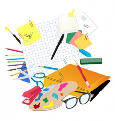 school subject vector image vector image