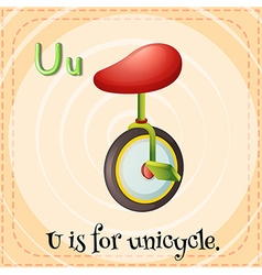Unicycle vector image vector image