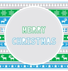 Merry christmas greeting card27 vector