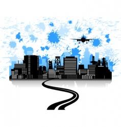 motorway vector image