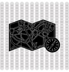 Gps navigator design vector