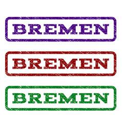 Bremen watermark stamp vector