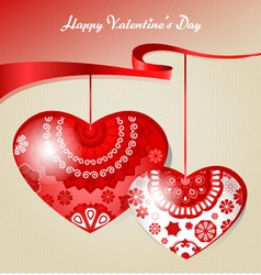 Hearts3 vector image