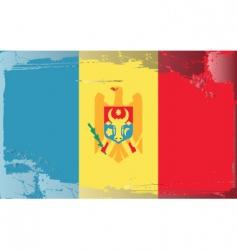 Moldova national flag vector image vector image