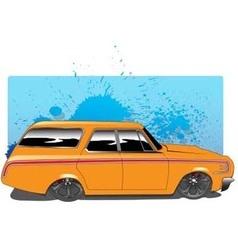 OrangeWagon vector image