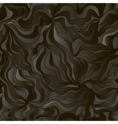 Abstract wave background with imitation of black vector image