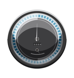 Speedometer to calculate speed icon cartoon style vector