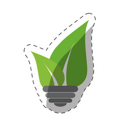 environment leaves nature design vector image