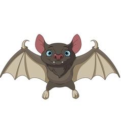 Halloween bat flying vector image