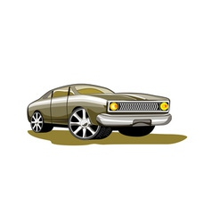 Ford fairmont car retro vector