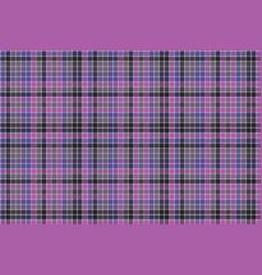 blue purple check mosaic plaid seamless fabric vector image