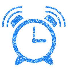 Buzzer grunge icon vector