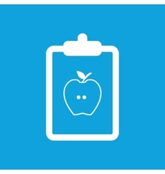 Diet prescription icon simple vector