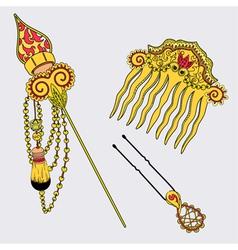 Hairpins in vector